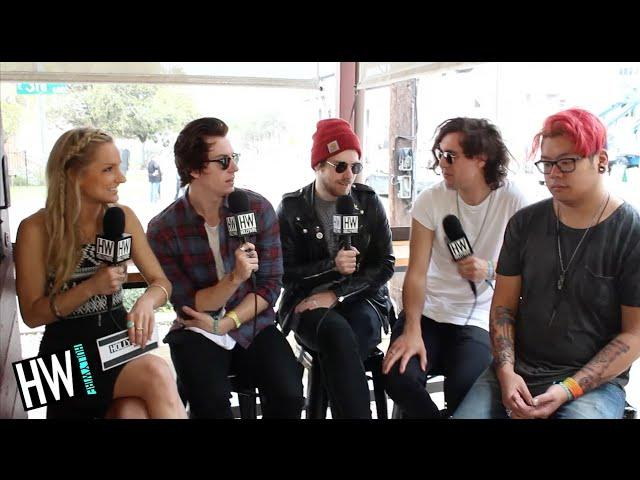 Young Rising Sons Tease New Album & Talk Favorite In Studio Moment! (SXSW 2015)