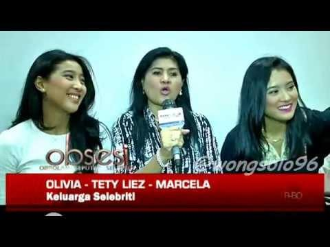 Walau sibuk Marcella & Olivia Zalianty dengan sang ibu Tety Liez Makin terlihat Kompak Saja