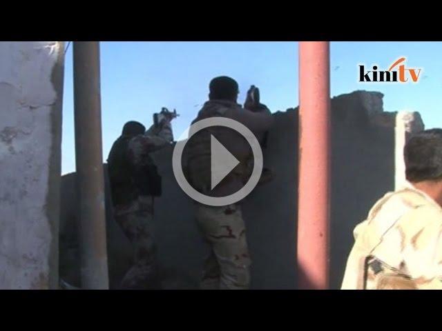 Tentera Iraq perangi militan IS bagi pertahankan 'Sur Shinas'