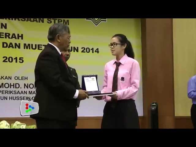 Percentage of students scoring perfect CGPAs in STPM increase