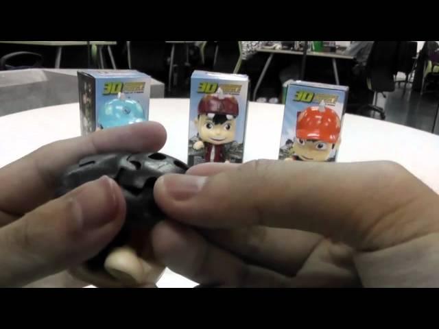 BoBoiBoy Api 3D Puzzle Figurine Unboxing