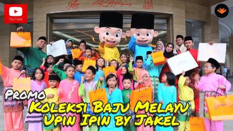 Promo - Koleksi Baju Melayu Upin & Ipin by JAKEL