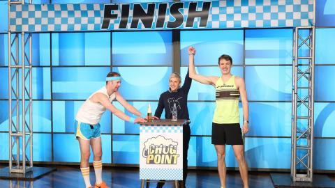 Ellen's Beer Mile Race