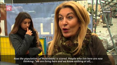 Molenbeek residents annoyed by raids following Paris attacks