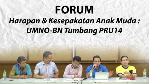 Harapan dan Kesepakatan Anak Muda : UMNO/BN Tumbang PRU14 - Bhgn2