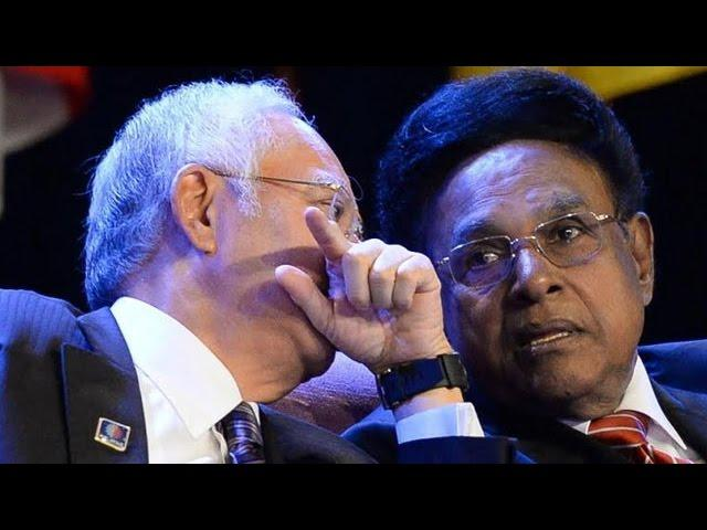 Najib envies Samy's thick, black hair