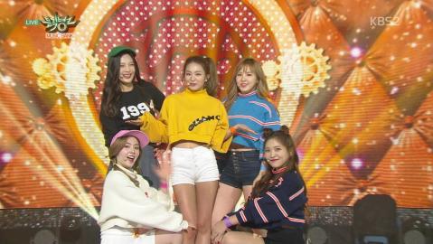 Red Velvet 레드벨벳_'Dumb Dumb'_KBS MUSIC BANK_2015.10.02