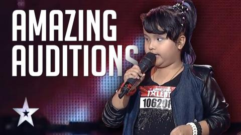 Amazing Got Talent Auditions Of Putri Ariani | Indonesia's Got Talent