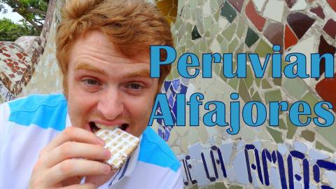 Alfajores Peruanos: Eating Peruvian Alfajores in Lima, Peru