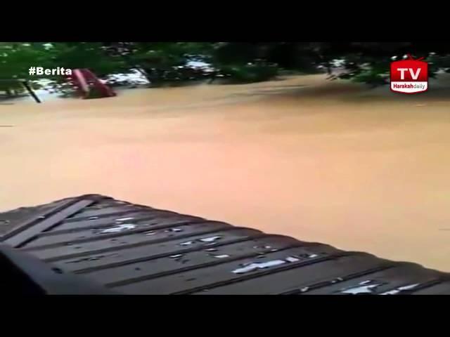 Banjir Pantai Timur: Detik cemas dibawa arus