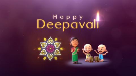 Upin & Ipin - Selamat Menyambut Hari Deepavali