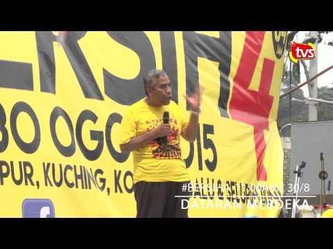 #BERSIH4 : Ucapan pemimpin masyarakat, NGO di Dataran Merdeka