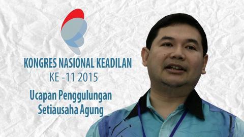 Kongres PKR: Ucapan Penggulungan Setiausaha Agung