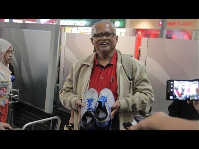 Mahfuz: Sirul minta kasut jogging dari Malaysia