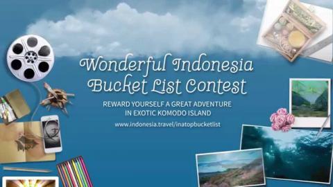Wonderful Indonesia Bucket List Contest!