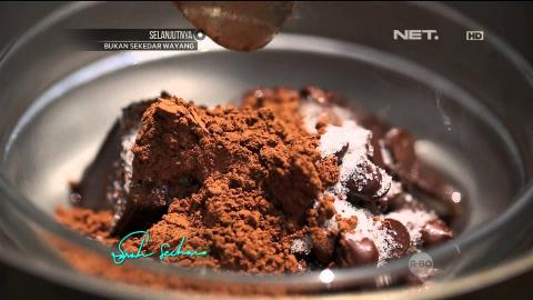 Masak On Sarah with Chef Sandra - Chocolate Mousse with Frozen Strawberry