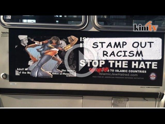 Iklan anti-Islam di bas, penduduk San Francisco berang