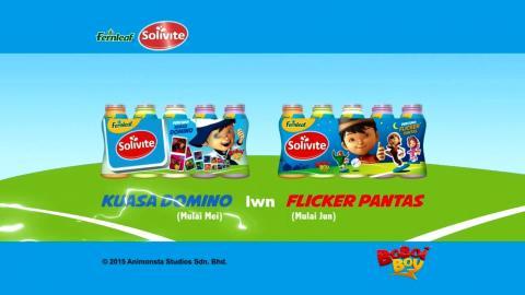 BoBoiBoy Fernleaf Solivite Domino Promo
