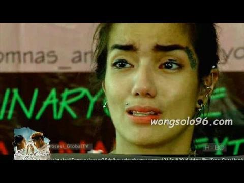 Air mata Sheila Marcia menceritakan tentang kekerasan yang di dapat oleh suaminya Kiki Mirano
