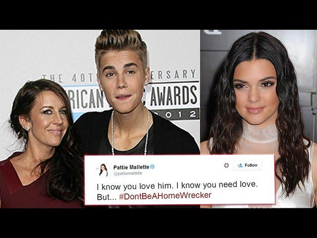 Justin Bieber's Mom DISSES Kendall Jenner?!