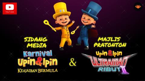 Berita EP93 - Sidang Media Karnival Upin & Ipin 2015 Dan Pratonton Ultraman Ribut II