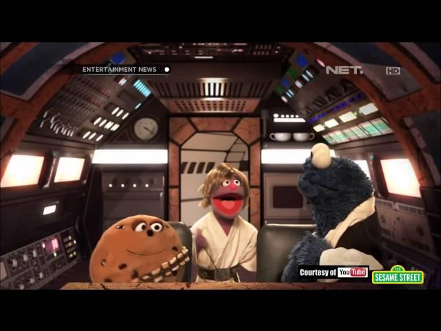 Sesame Street Parodikan Star Wars