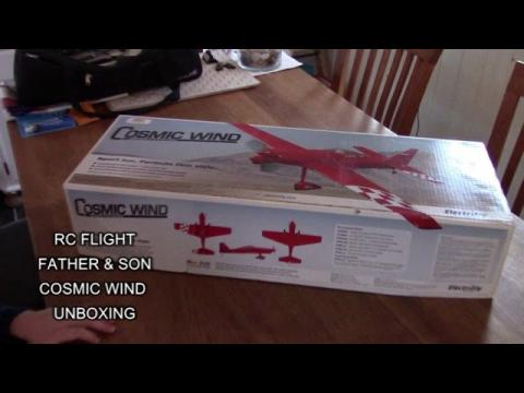RC FLIGHT COSMIC WIND UNBOXING DISCOUNTINUED PLANE FROM ELECTRICFLY GREAT PLANES