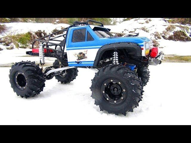 RC ADVENTURES - ALTERED BEAST 4x4 - BLiZZARD Trail in a DEEP FREEZE