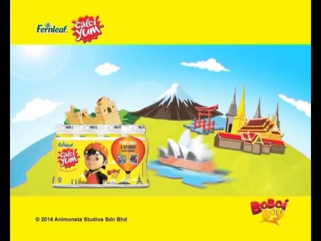 Calciyum Boboiboy Hot Air Balloon Promo
