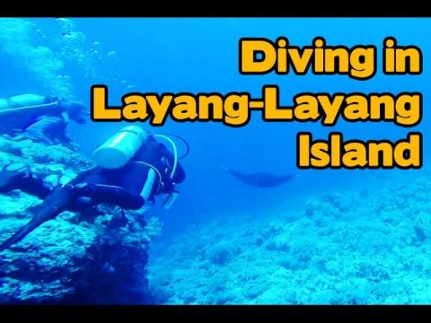 Diving in Layang-Layang Island