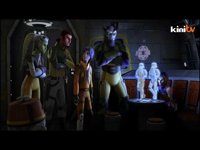 """Star Wars: Rebels"" animated series hits TV screens worldwide"