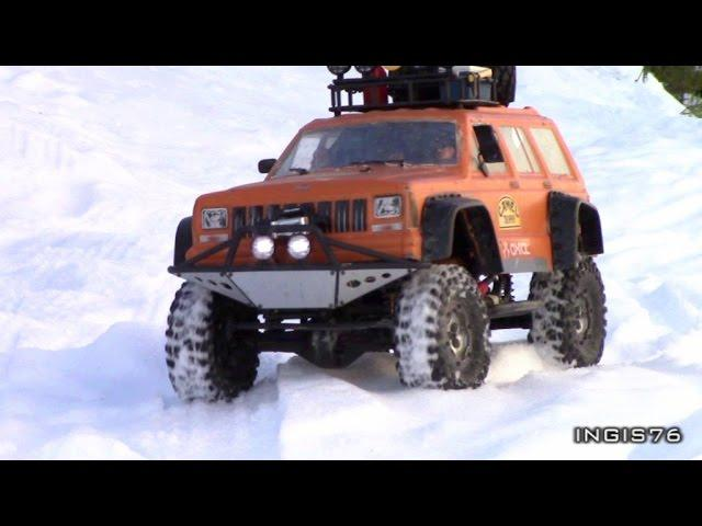 RC TRAIL CAMEL TROPHY WINTER EXPEDITION