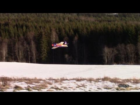 RC FLIGHT WINTER RARE BEAR 160kmh TRACKED BY SOLOSHOT 2