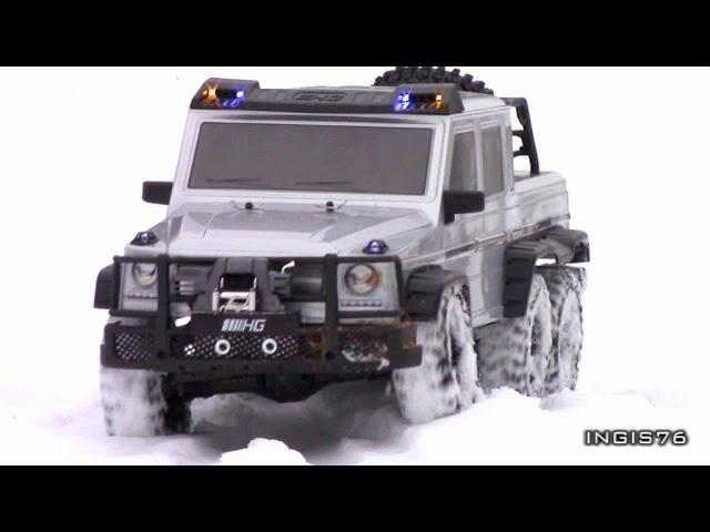 RC TRAIL 6X6 MERCEDES G63 WINTER EXPEDITION