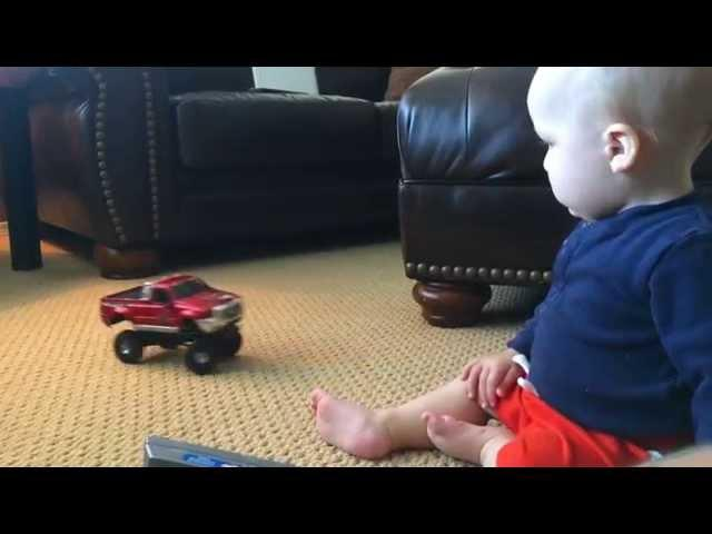 RC ADVENTURES - Home video - Baby Mac with Losi Trail Trekker