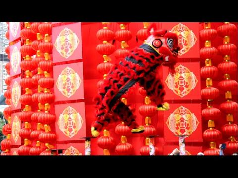 2016 Suria KLCC Acrobatic Lion Dance