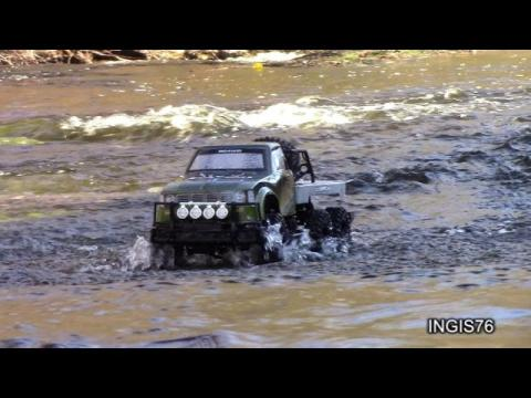 RC TRAIL 6X6 YOTA STREAM EXPEDITION PART 2