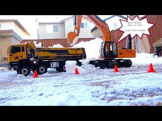 Rc Adventures Belligerent Rc Snow Removal 1 14th Scale Crew