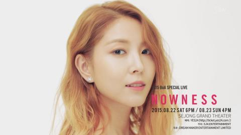 2015 BoA Special Live NOWNESS