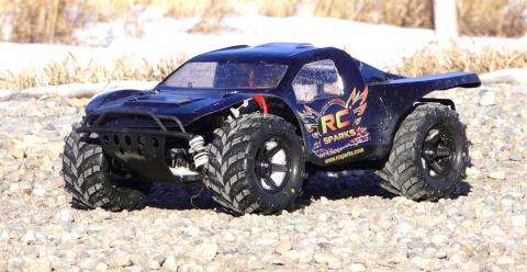 RC ADVENTURES - Traxxas Slash 4x4 HCG, 3s Lipo, 2.8 Masher Tires