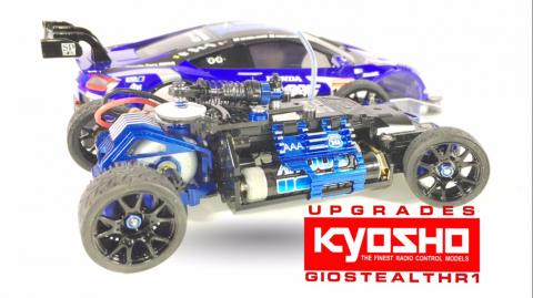 KYOSHO UPGRADES MINI-Z MR-03 NO.49 RAYBRIG NSX CONCEPT-GT