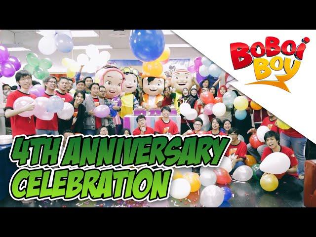 BoBoiBoy 4th Anniversary Celebration