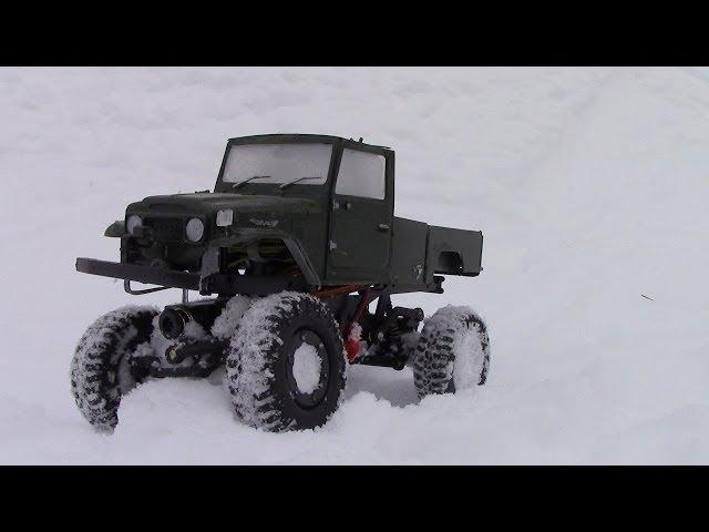 RC TRAIL LOSI SNOW TRAIL TREKKER EXPEDITION