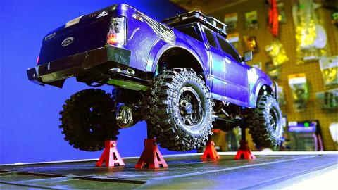 RC ADVENTURES - Beadlock Tire Repair - 1/10 scale G-Made Komodo 4x4 Trail Truck