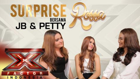 SURPRISE X - Surprise Rossa bersama Jebe & Petty di X Factor Indonesia 2015