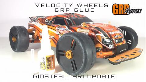 GRP TIRES VELOCITY WHEELS PLUS GLUE