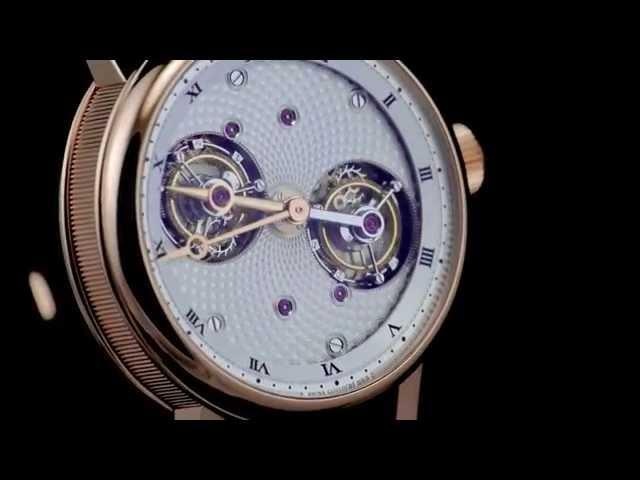 Swiss Watch Breguet Double Rotating Tourbillons