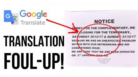 Error Ridden Notice Perak Mb Advises Against Using Google Translate