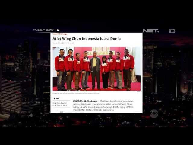 Tonight's News - Atlet Wing Chun Indonesia Juara Dunia