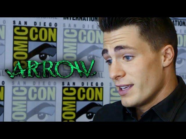 "Colton Haynes ""Arrow"" Talks Arsenal Outfit & Future with Thea - Comic-Con 2014"